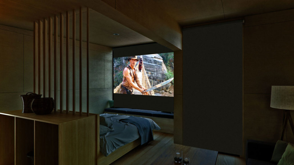 Movie night at Guest accommodation in Kinloch, Glenorchy NZ